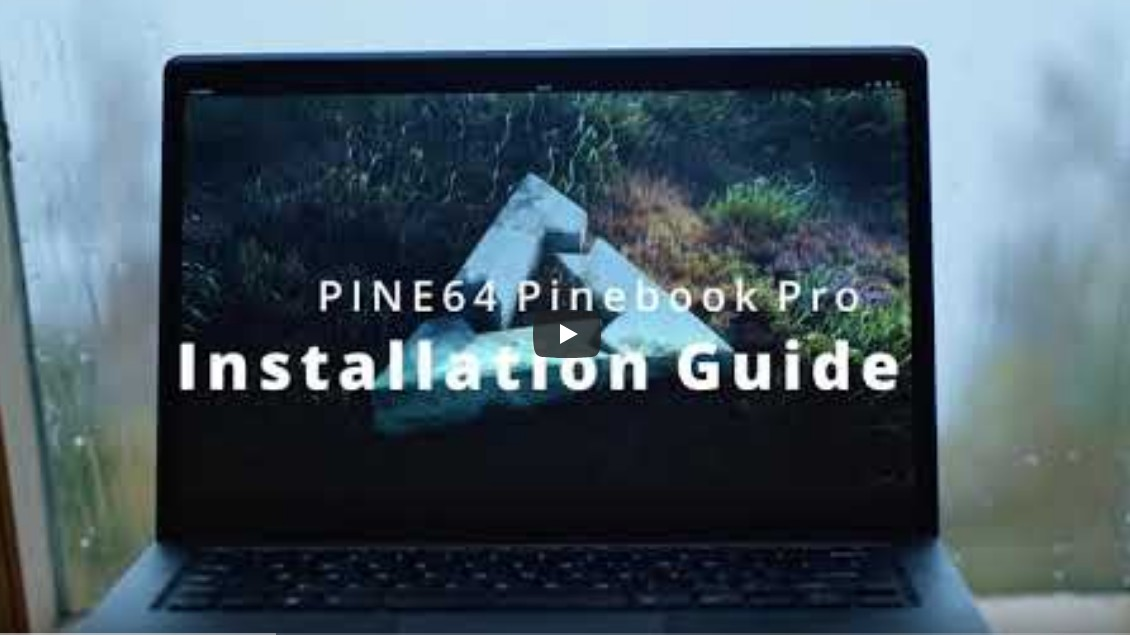 Installing postmarketOS on the Pinebook Pro