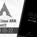 Arch Linux ARM 20210522 - Kernel 5.12.5, Phosh 0.10.2, Megapixels 1.0.1