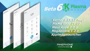 Manjaro ARM Beta6 with Plasma-Mobile